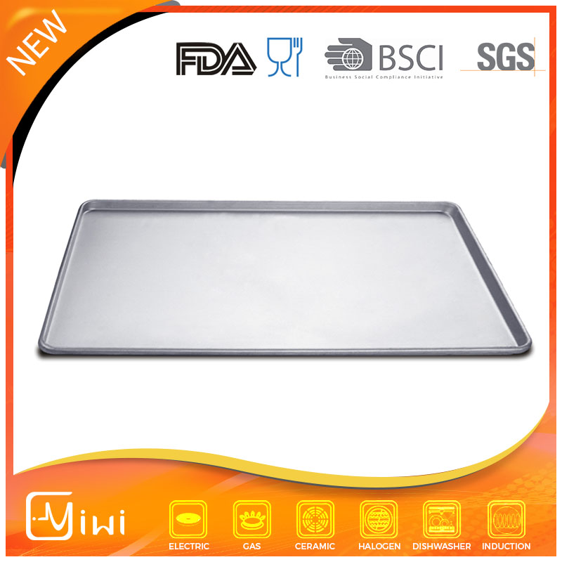high quality square aluminum tray baking