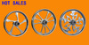 diameter D21 forged motorcycle wheels hot sales aluminum alloy wheels