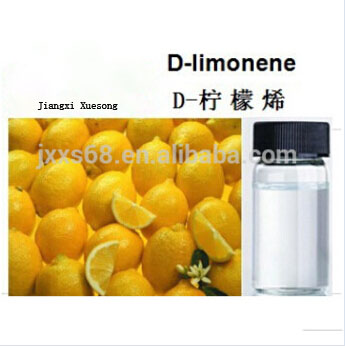 Pure natural d-limonene for cleaning product