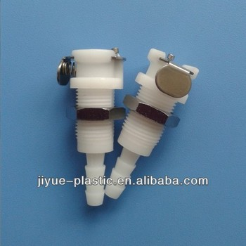 Mini Plastic Quick Release Fitting Body For Liquid
