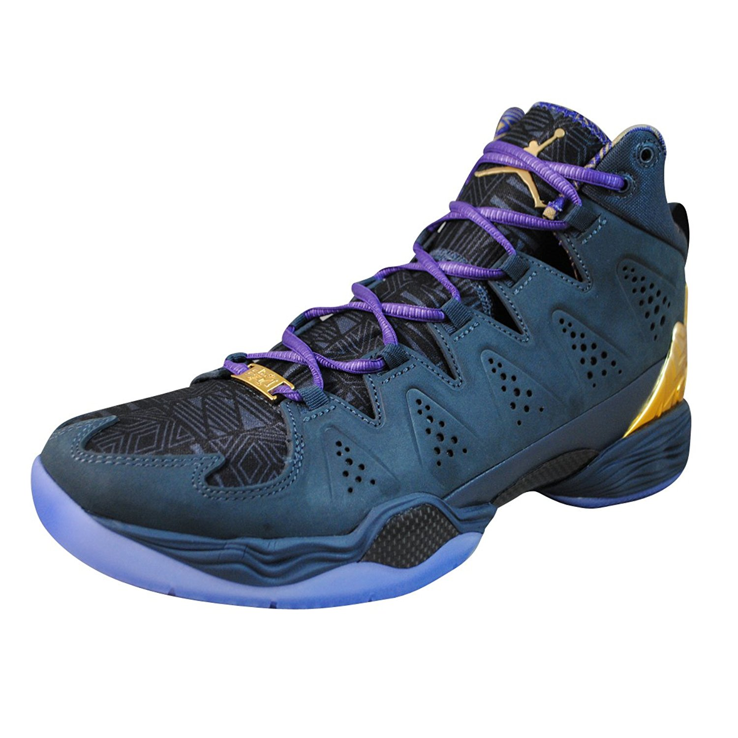 904894e4d388 Buy Nike Mens Jordan Melo M10 BMH Basketball Shoes Magnet Grey Purple Gold  647568-005 Size 9.5 in Cheap Price on m.alibaba.com