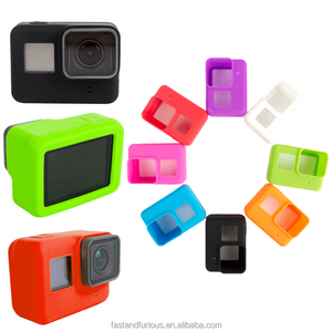 Camera Accessories Protective Soft Silicone Case Cover for Heros 5 Action Cameras