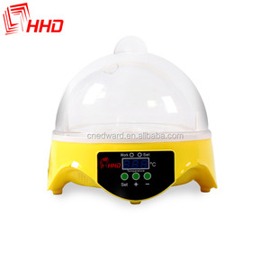 HHD EW9-7 for 7 Eggs portable 98% Hatching Rate CE Approved automatic mini hatchery trout from China
