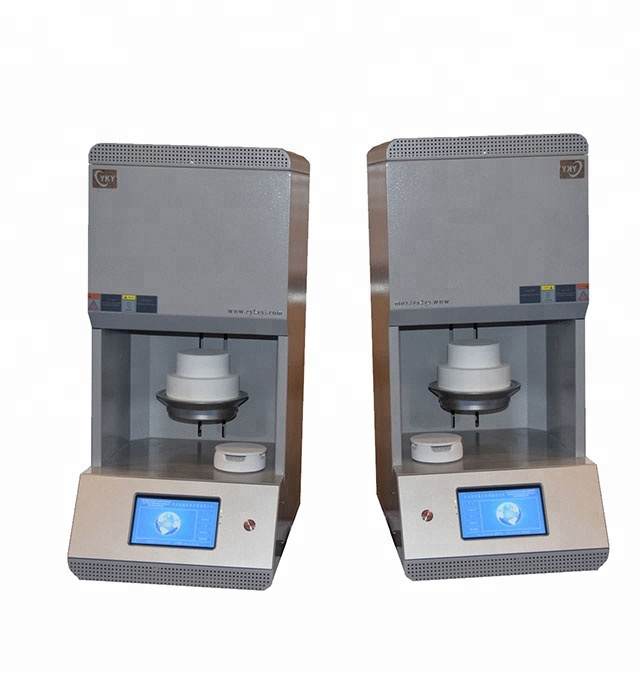 Dental laboratory equipment dental press porcelain furnace for porcelain denture supplier