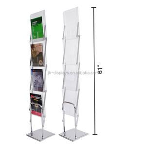 Portable Exhibition Shelves : Store exhibition counter corrugated plastic construction