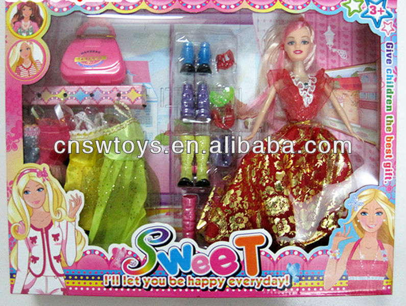 Fashion Show 11.5 inch Sweet Princess Doll with Collection Collector WW3606415