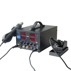 HAPREAL 5000# automatic 4 IN 1 solder station phone repair tools with DC Power supply 30V 5A with USB output
