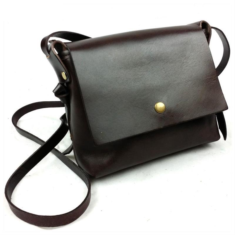 Brand High Quality Vintage Fashion 100% Genuine Leather Cowhide Women Small Messenger Bag Shoulder Crossbody Bags For Ladies