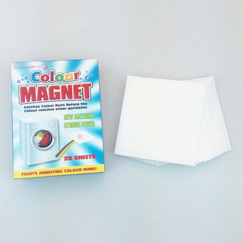 Magic performance best selling in EU absorb color non woven farbic color grabber sheets color , catcher sheet