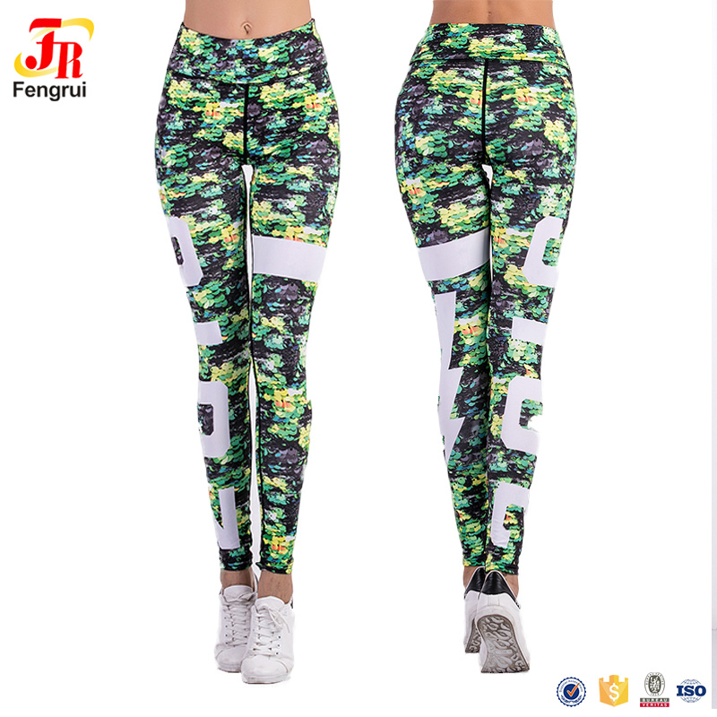 806c7ce845 Sexy Women Camouflage Gym Fitness Leggings Club Wear Jogging Skinny Sports  Tights Yoga Pants
