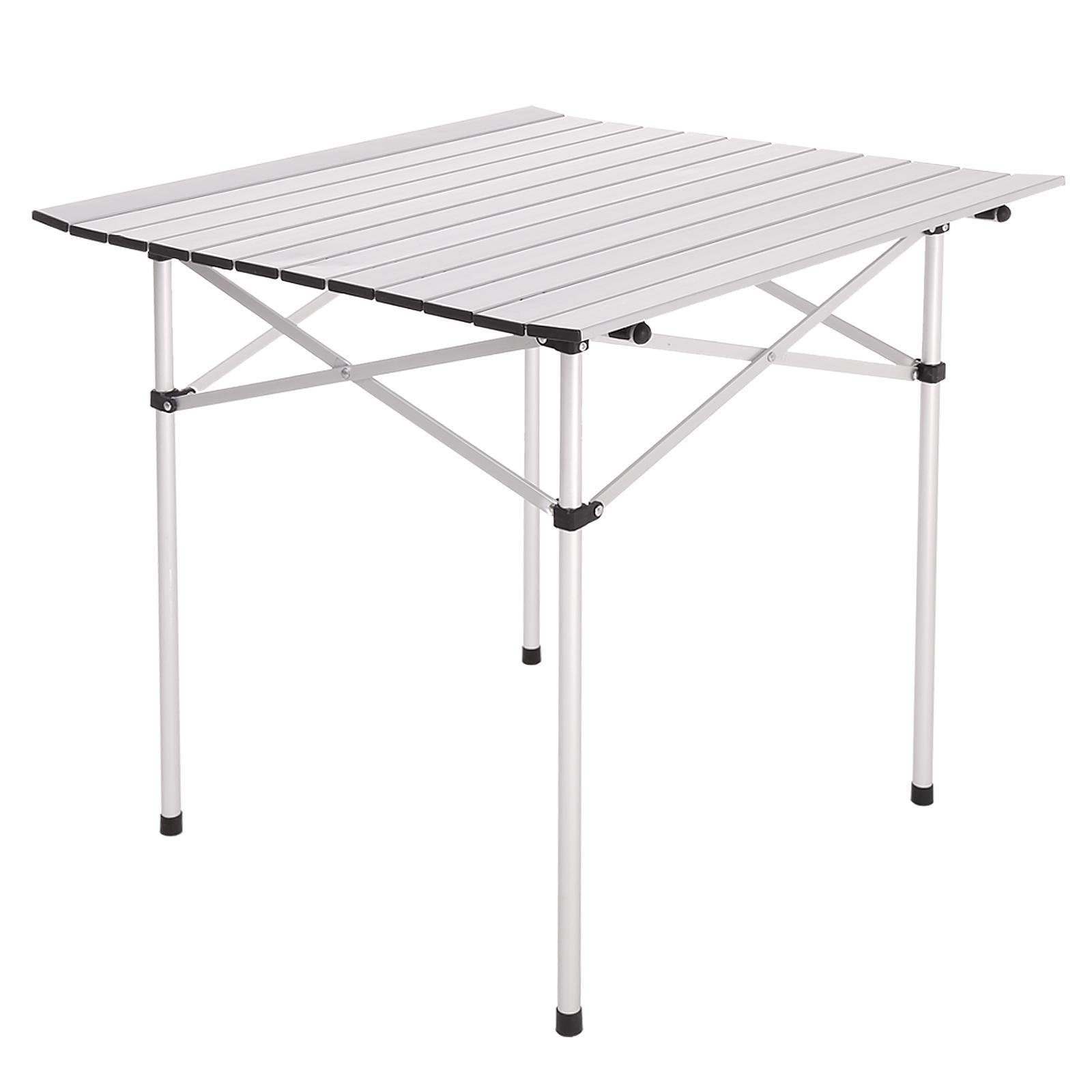 TRIWONDER Ultralight Folding Camping Aluminum Table Portable Collapsible Roll-Up Table for Outdoor Camping Picnic BBQ Beach Fishing