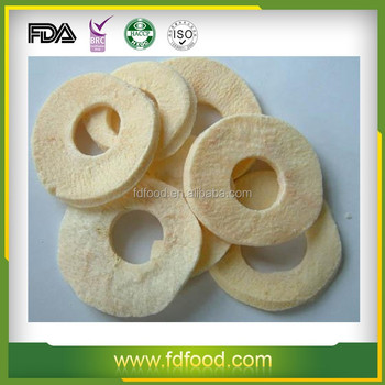 Freeze Dried Type Apple Rings/apple Slices For Hot Sale