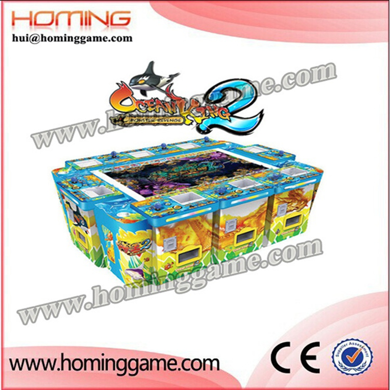 New year special commodity / Ocean King 2 Fishing video Coin Games Machine for sale