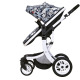High Landscape Baby Pram Oxford Canopy Good Baby Stroller for Baby