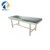 AC-EC009 Chinese supplier Very cheap Commercial steel primary school furniture folding frame Gynecology exam table bed