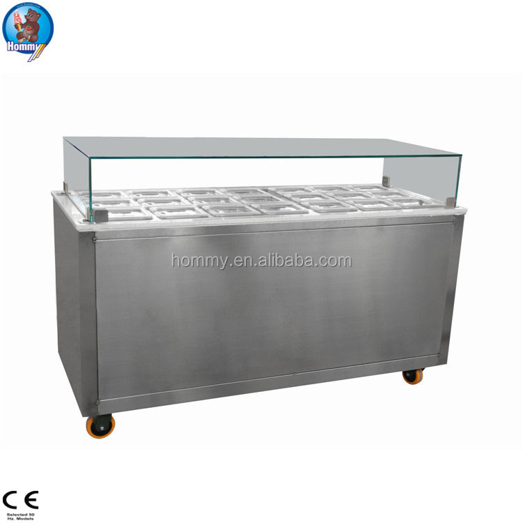 Topping Bar Refrigerator, Topping Bar Refrigerator Suppliers And  Manufacturers At Alibaba.com