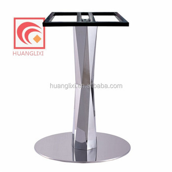 Furniture Legs Stainless Steel modern stainless steel dining table legs,stainless steel base