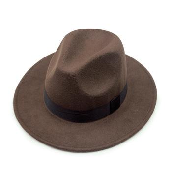 High quality custom color vintage mexican wool felt fedora wide brim hat  for Men Women 170282e8d86