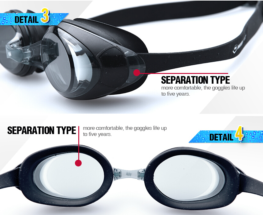 Factory Supply Anti-Fog Cheap safety beautiful popular swim goggles made in china