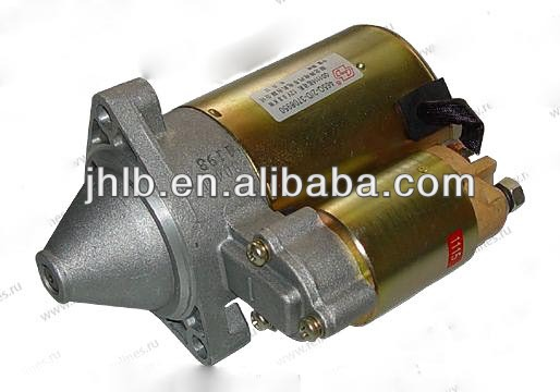 Chinese Mini Van and Mini Truck Auto Spare Parts S11-3708110BA Starter Motor for Chery QQ