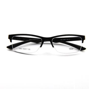 784e05763e LY-1003 Durable   Lightweight Semi-Rimless TR90 Eyeglass Frame Rx ...