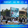 Shenzhen Runbo p10 xxx video paly led display outdoor ali led display full