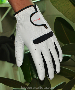 cheap stock Cabretta Leather Golf Gloves for wholesale
