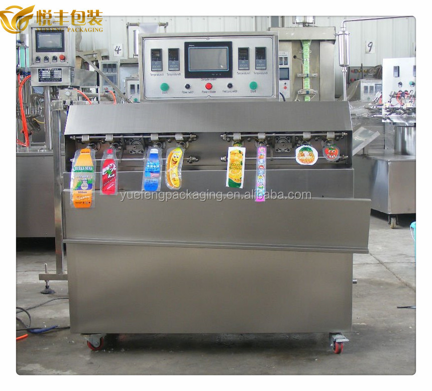 fruit filling and sealing machine
