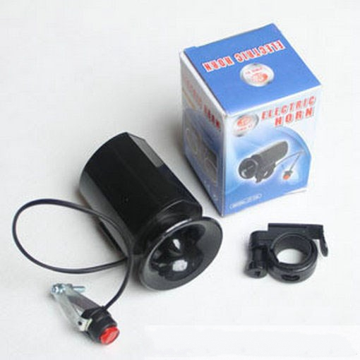 2psc/lot Sounds Bicycle Electronic horn bike bell cycling louder Bike Electronic Horn Bell Ring Alarm bicycle speaker