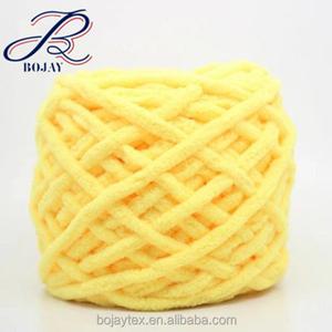 Hot Sale Chenille Chunky Knit Yarn Yarn Chunky Knit Chenile Yarn Chenille  Arm Knit Fancy Knitting Giant Bulky Knit Yarn