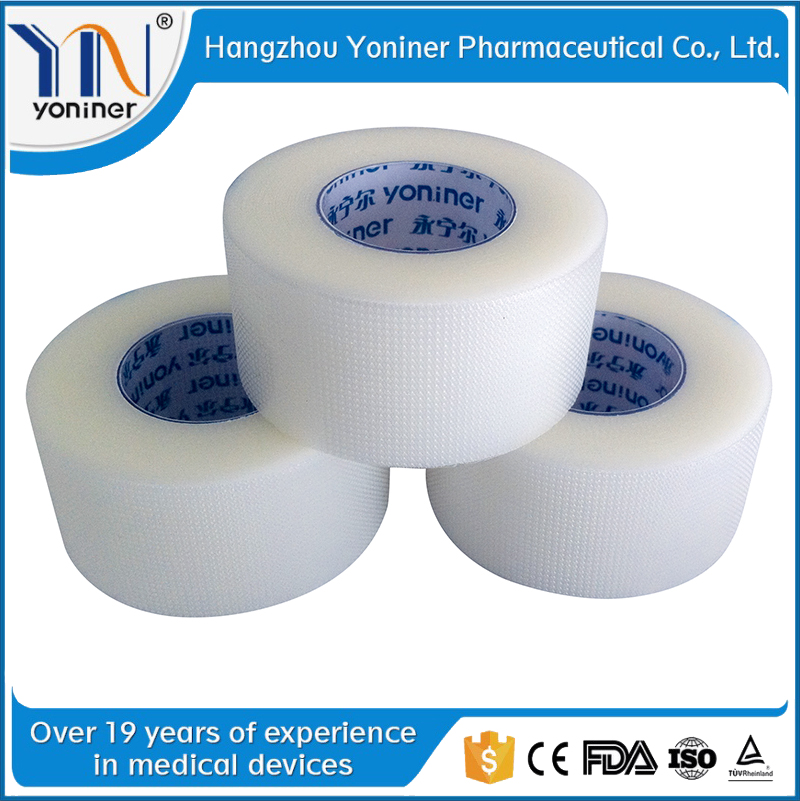 surgical products pe surgical tape for skin waterproof wound dressing professional supplier surgical pe tape