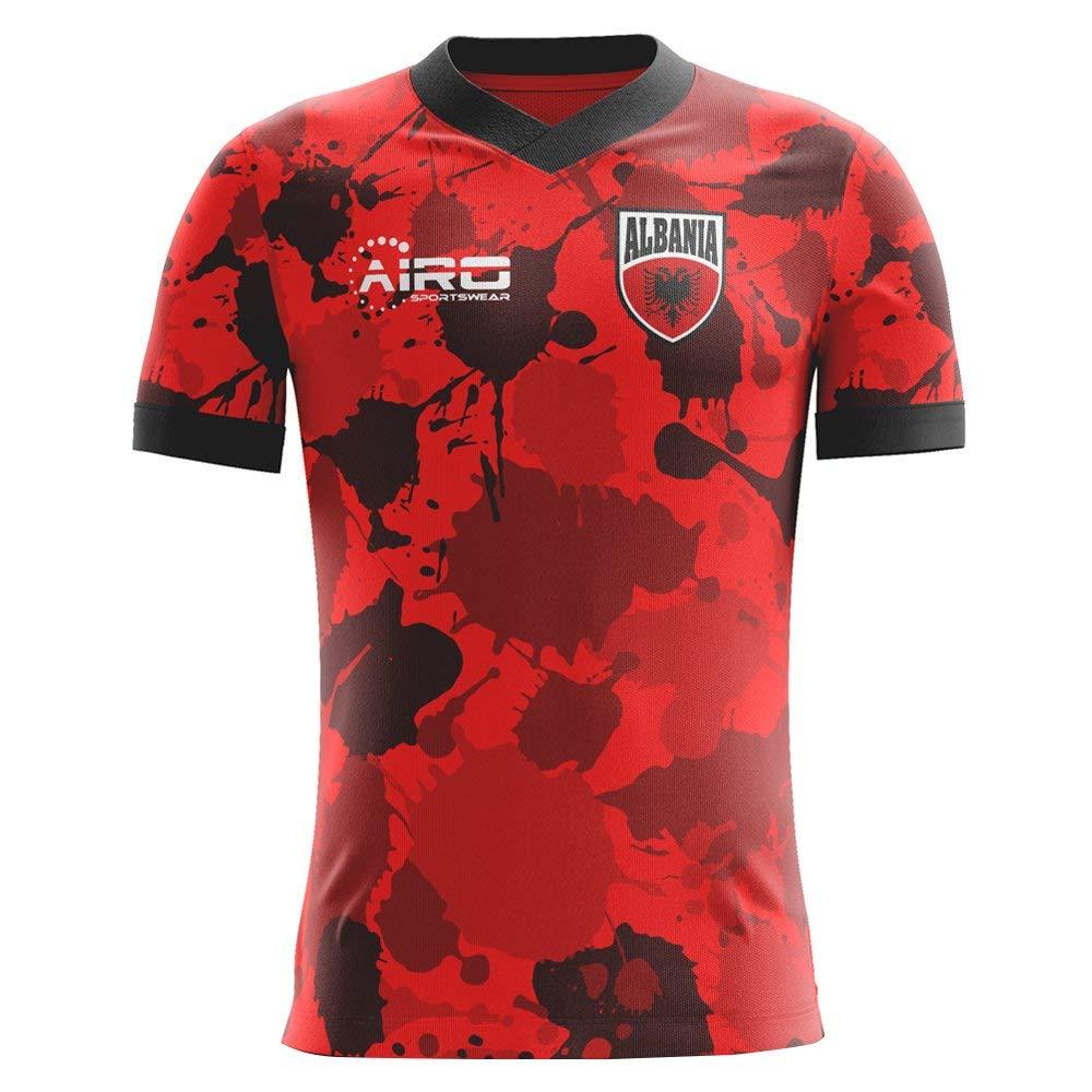 2abe7158f Airo Sportswear 2018-2019 Albania Home Concept Football Shirt (Kids)