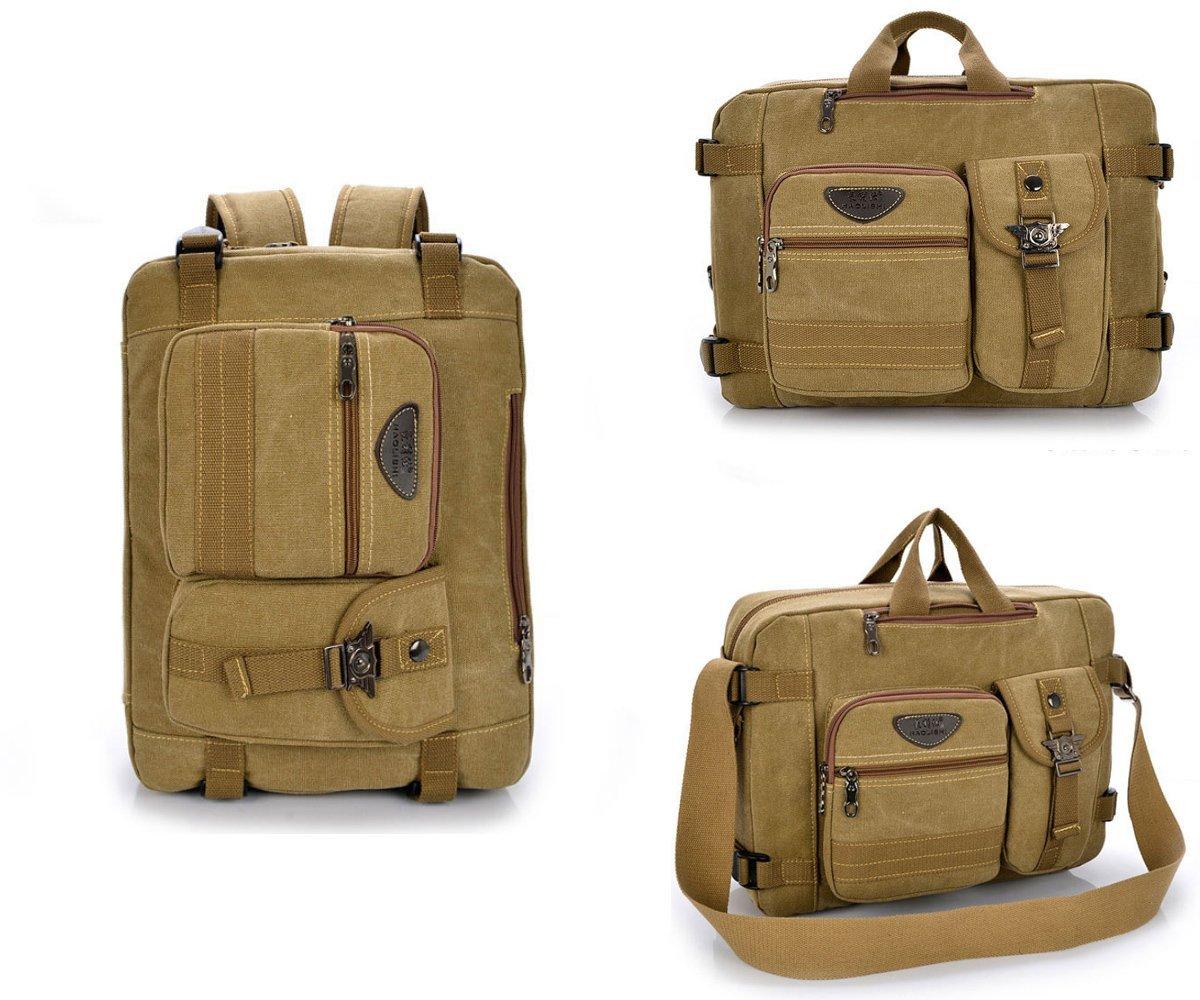 Get Quotations · Abonnyc Vintage Canvas Laptop Travel Backpack Bookbag for Girls  Mens Womens Boys Teen Kids Children Unisex 68122a1ff8c30