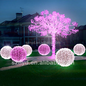 fashionable umbrella ball christmas tree white outdoor lighted christmas trees
