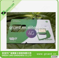 4g Lte Test Card For Cmw500 Mobile Phone Micro Test Card