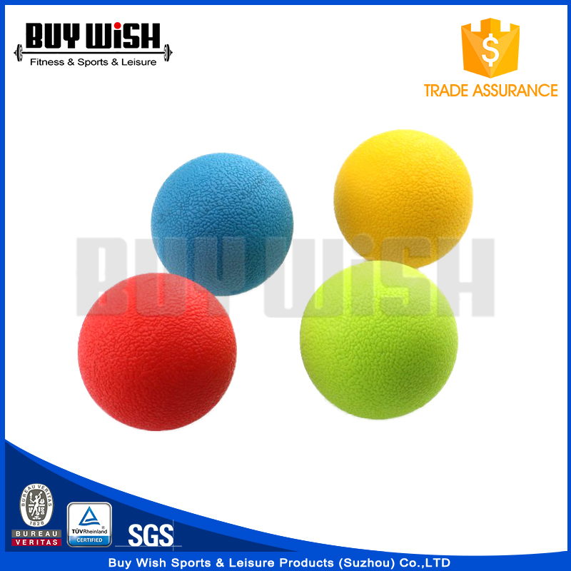 New Developed Multi Colors Fitness High Bounce TPE Ball