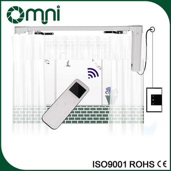 Newest Technology Motorized Curtain Track System/Electric Drapery System/Motorized  Curtain Rods