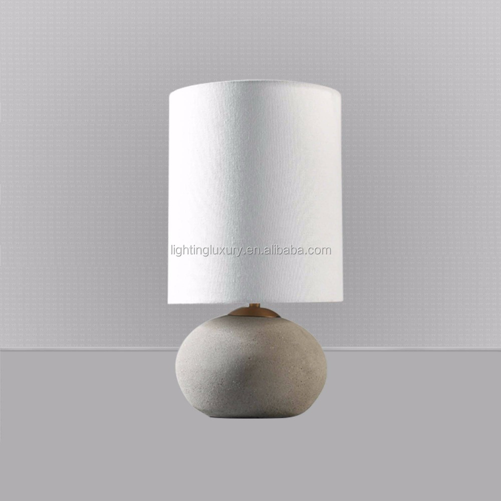 Cement Table lamp & Floor lamp Decorative vintage American style retro industrial modern royal and luxury