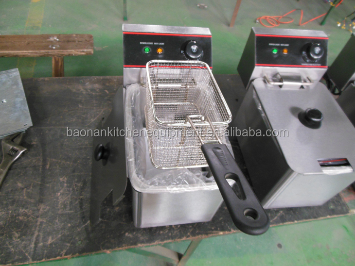 electric potato deep fryer commercial electric fryer fish fryer