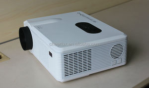 Drop shipping ! DVB-T projector full hd support 3D movies 3000 lumens 2000:1 contrast ratio led lamp last 50000 hours