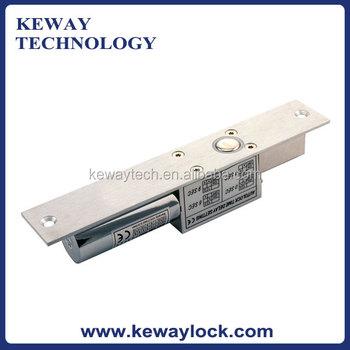 Swinging door electric bolt lock