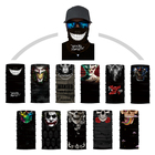 women custom head cotton motorcycle 3d headwear bandana