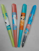 OEM Cheap Chinese Plastic Fountain Pen for School Students