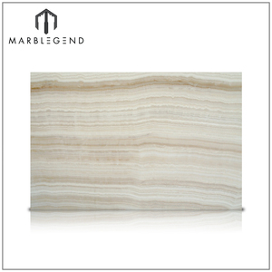 custom natural wall design sophisticationOnice Ivory VC Onyx marble slab
