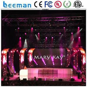 second hand led display screen wheel weight die casting machine led curtain 10mm