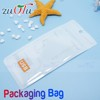 Nice design zip lock plastic bags with own logo