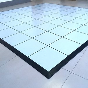 pvc invisible locks tile floor , pvc portable dance floor cover