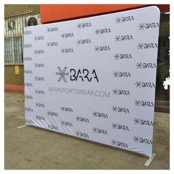 Trade Show Fabric Pop Up Display Banner Stand Exhibition Product On Alibaba