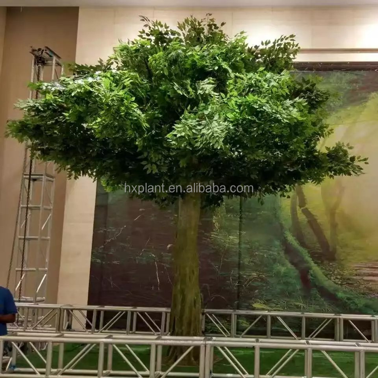D coration de bureau pas cher ficus arbre personnaliser for Arbres artificiels interieur