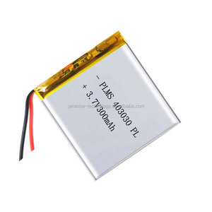 3.7v 300mah 403030 rechargeable battery li-polymer 043030 lipo battery packs